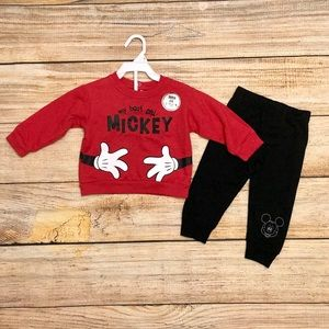 Disney Pair Outfit 12 Mos New w/ Tag
